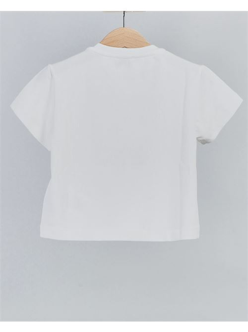 T-shirt con stampa bocca Elisabetta Franchi La Mia Bambina ELISABETTA FRANCHI LA MIA BAMBINA | T-shirt | EFTS130JE95WE03626