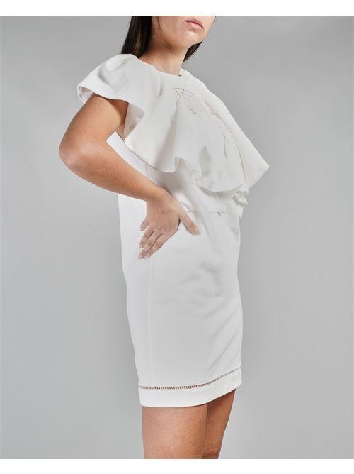 Mini abito in felpa con ricamo Elisabetta Franchi ELISABETTA FRANCHI | Abito | AB01011E2360