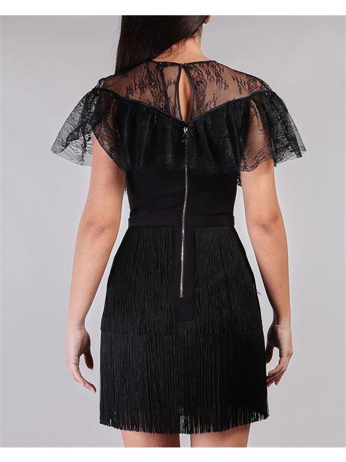 Mini dress trasparente in pizzo Elisabetta Franchi ELISABETTA FRANCHI | Abito | AB03311E2110
