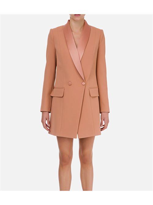 Abito robe manteau con revers Elisabetta Franchi ELISABETTA FRANCHI | Abito | AB06207E2W71
