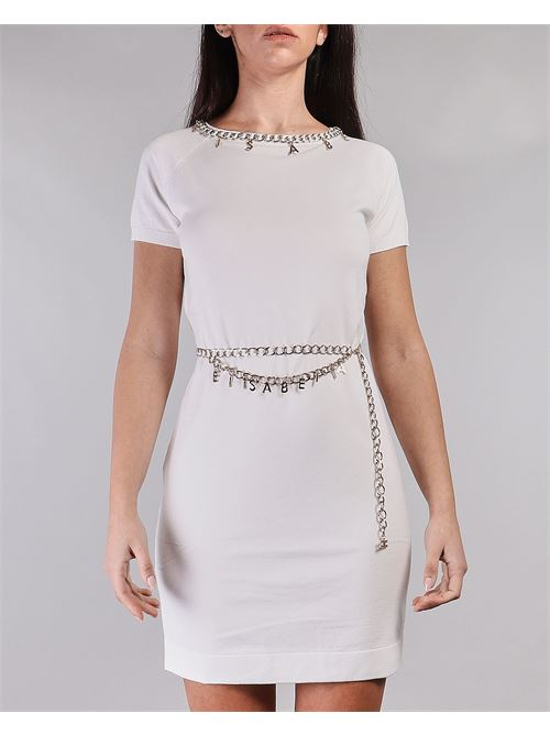 Mini dress con cintura e charms Elisabetta Franchi ELISABETTA FRANCHI | Abito | AM03S11E2360