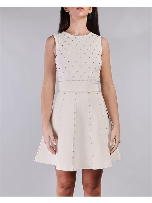 Mini abito con borchiette Elisabetta Franchi ELISABETTA FRANCHI | Abito | AM75B11E2193