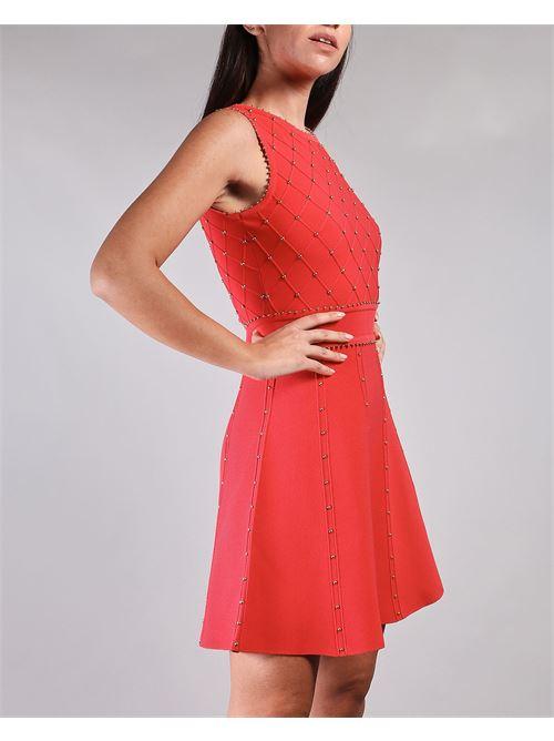 Mini abito con borchiette Elisabetta Franchi ELISABETTA FRANCHI | Abito | AM75B11E2620
