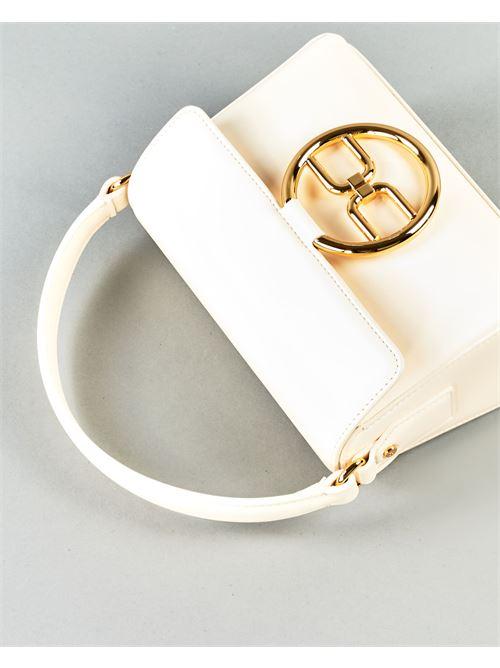 Micro bag con logo dorato Elisabetta Franchi ELISABETTA FRANCHI | Borsa | BS04A11E2193