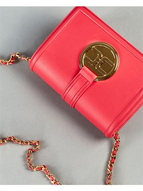 Tracollina con logo pendente dorato Elisabetta Franchi ELISABETTA FRANCHI | Borsa | BS06A11E2620