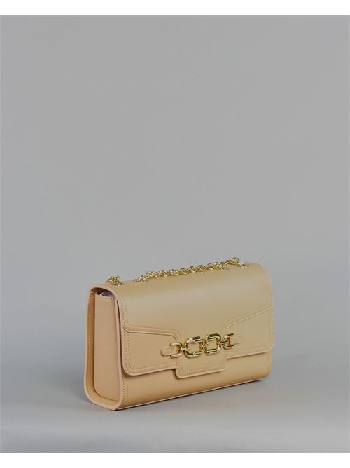 Borsa media con morsetto light gold Elisabetta Franchi ELISABETTA FRANCHI | Borsa | BS08A11E2470