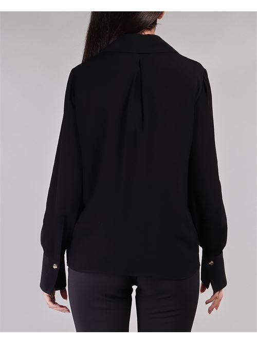 Camicia con ricamo in organza Elisabetta Franchi ELISABETTA FRANCHI | Camicia | CA28111E2110