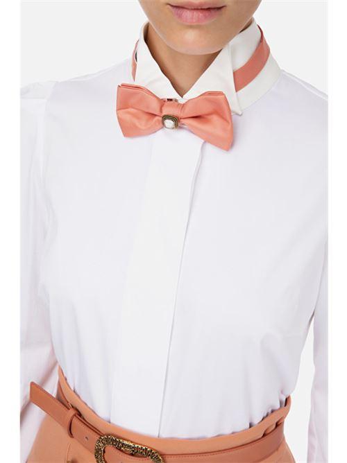 Camicia smoking con papillon Elisabetta Franchi ELISABETTA FRANCHI | Camicia | CA30807E2Q42