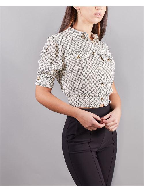 Camicia corta stampa morsetto Elisabetta Franchi ELISABETTA FRANCHI | Camicia | CA32211E2E84