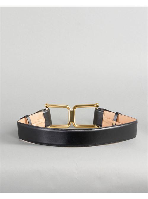 Cintura alta con maxi logo Elisabetta Franchi ELISABETTA FRANCHI | Cintura | CT02S11E2110