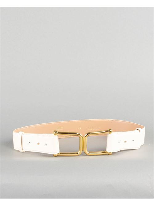 Cintura alta con maxi logo Elisabetta Franchi ELISABETTA FRANCHI | Cintura | CT02S11E2193