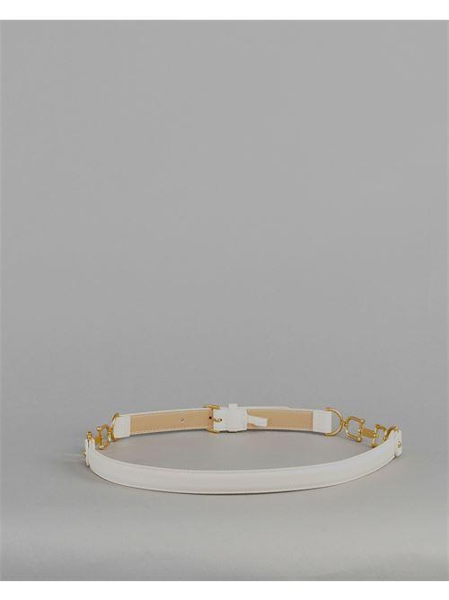 Cintura con morsetti oro Elisabetta Franchi ELISABETTA FRANCHI | Cintura | CT05S11E2193