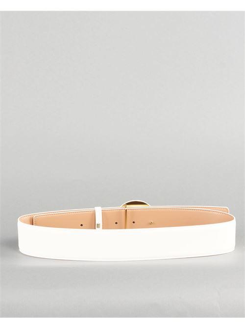 Cintura alta con logo Elisabetta Franchi ELISABETTA FRANCHI | Cintura | CT08S13E2360