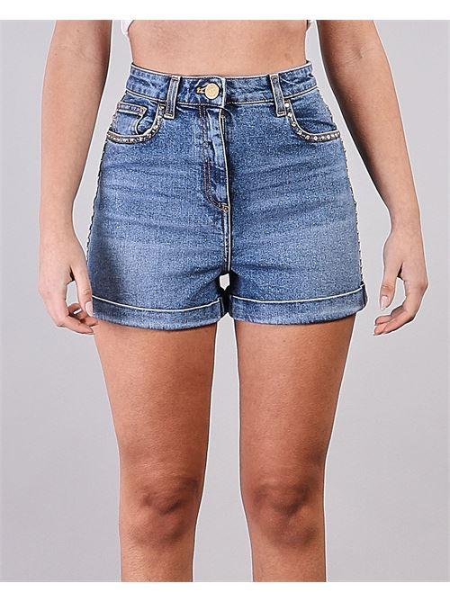 Mini shorts a vita alta Elisabetta Franchi ELISABETTA FRANCHI | Shorts | HJ12D11E2192
