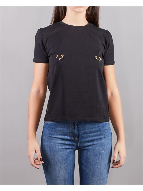 T-shirt con piercing Elisabetta Franchi ELISABETTA FRANCHI | T-shirt | MA18N11E2110