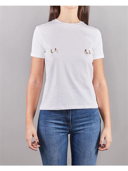 T-shirt con piercing Elisabetta Franchi ELISABETTA FRANCHI | T-shirt | MA18N11E2270