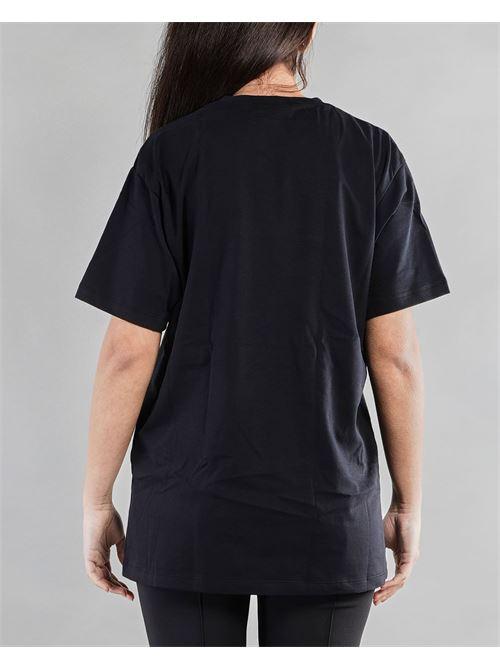 T-shirt lunga con logo in tono Elisabetta Franchi ELISABETTA FRANCHI | T-shirt | MA19611E2110