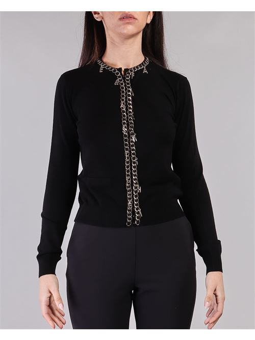 Maglia tricot manica lunga con charms Elisabetta Franchi ELISABETTA FRANCHI | Maglia | MK07S11E2110