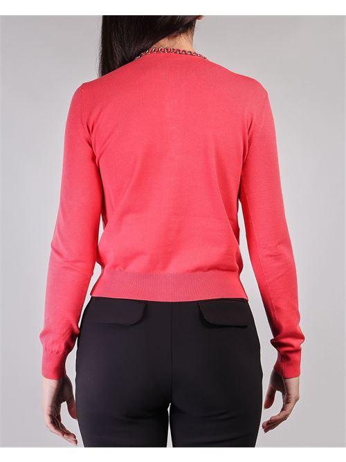 Maglia tricot manica lunga con charms Elisabetta Franchi ELISABETTA FRANCHI | Maglia | MK07S11E2620