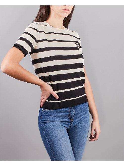 Maglia tricot a manica corta Elisabetta Franchi ELISABETTA FRANCHI | Maglia | MK11T11E2685