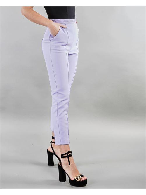 Pantalone classico a sigaretta Elisabetta Franchi ELISABETTA FRANCHI | Pantalone | PA33711E2Q38