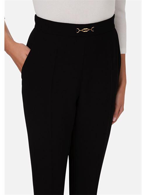 Pantalone capri con pences Elisabetta Franchi ELISABETTA FRANCHI | Pantalone | PA36406E2110