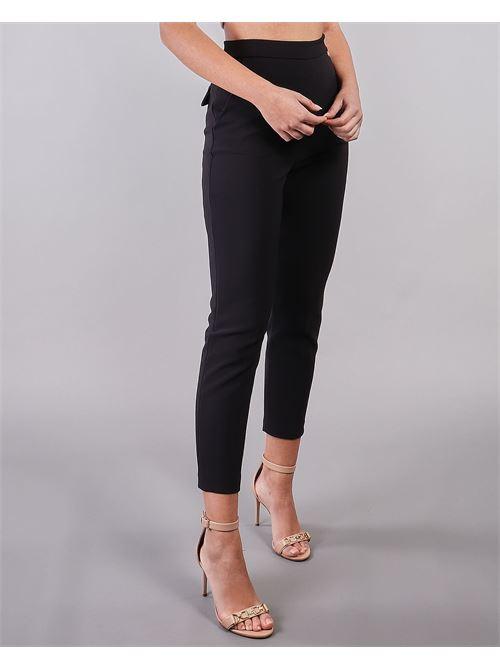 Pantalone doppio crêpe skinny Elisabetta Franchi ELISABETTA FRANCHI | Pantalone | PA37511E2110