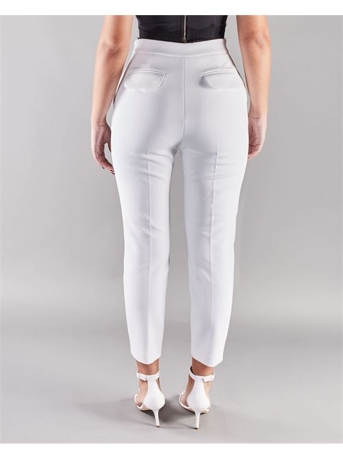 Pantalone doppio crêpe skinny Elisabetta Franchi ELISABETTA FRANCHI | Pantalone | PA37511E2360