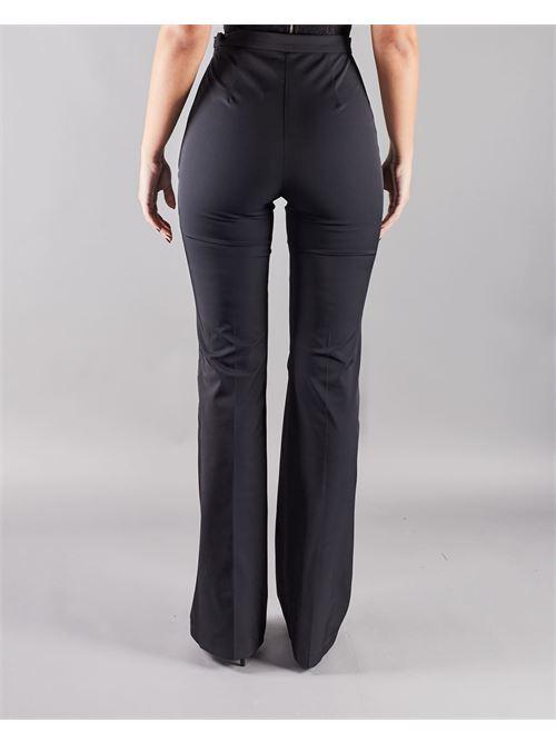 Pantalone in ottoman con morsetti Elisabetta Franchi ELISABETTA FRANCHI | Pantalone | PA37611E2110