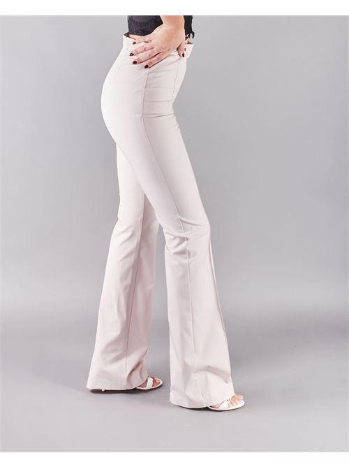 Pantalone in ottoman con morsetti Elisabetta Franchi ELISABETTA FRANCHI | Pantalone | PA37611E2686