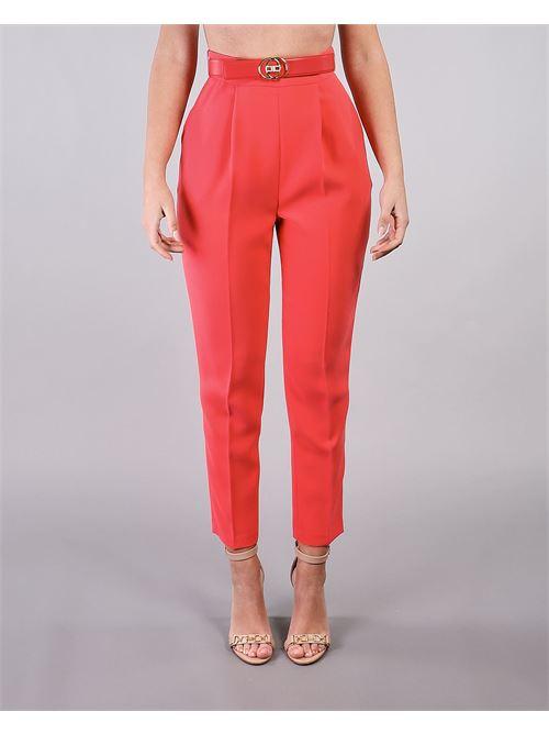 Pantalone skinny con cintura Elisabetta Franchi ELISABETTA FRANCHI | Pantalone | PA38211E2620