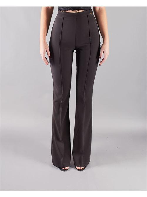 Pantalone skinny a zampa Elisabetta Franchi ELISABETTA FRANCHI | Pantalone | PA38411E2110