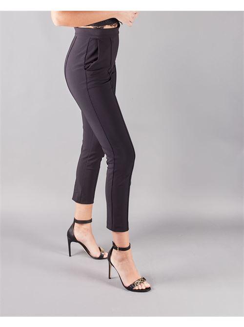 Pantalone dritto con charm Elisabetta Franchi ELISABETTA FRANCHI   Pantalone   PA38711E2110