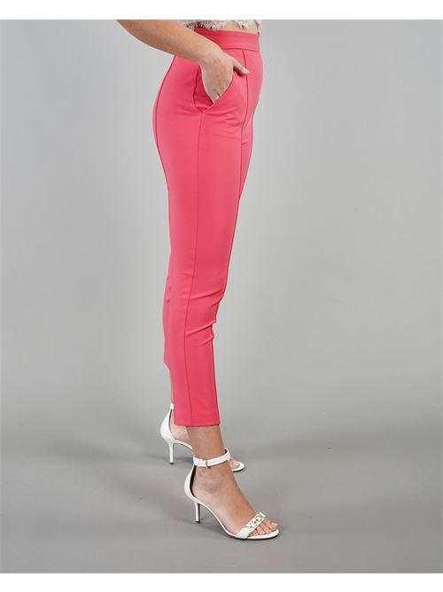 Pantalone dritto con charms Elisabetta Franchi ELISABETTA FRANCHI | Pantalone | PA38711E2620