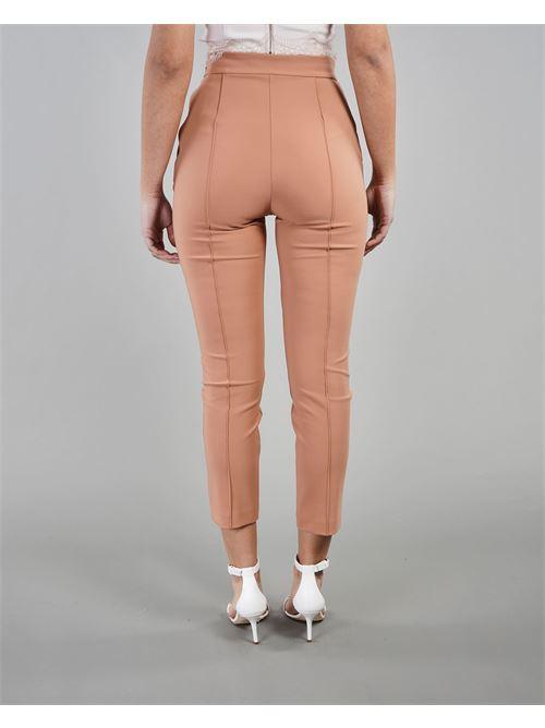 Pantalone dritto con charms Elisabetta Franchi ELISABETTA FRANCHI | Pantalone | PA38711E2W71