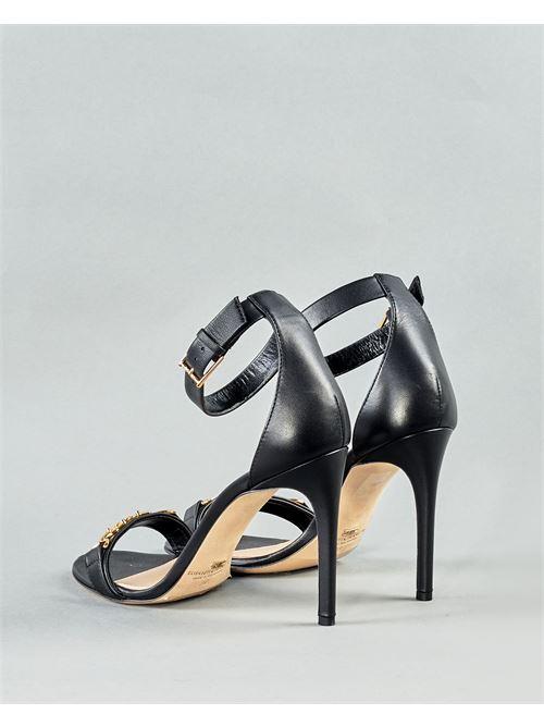 Sandalo con logo Elisabetta Franchi ELISABETTA FRANCHI | Scarpa | SA97L11E2110