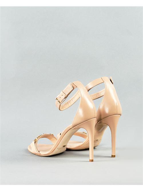 Sandalo con logo Elisabetta Franchi ELISABETTA FRANCHI | Scarpa | SA97L11E2470