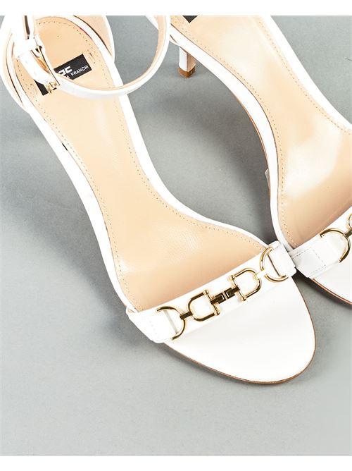 Sandalo open toe alla caviglia Elisabetta Franchi ELISABETTA FRANCHI | Sandali | SA98L11E2360
