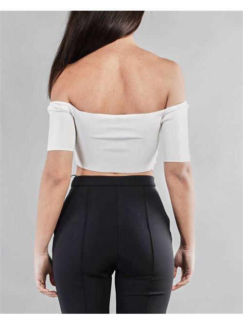 Micro top in maglia Elisabetta Franchi ELISABETTA FRANCHI | Top | TK28A11E2360