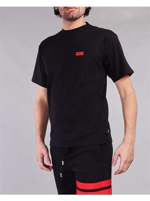 T-shirt con logo patch GCDS GCDS | T-shirt | CC94M02100102