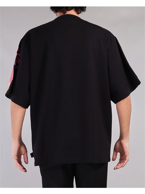 T-shirt oversize con stampa logo motivo Tie Dye GCDS GCDS | T-shirt | CC94M02104702