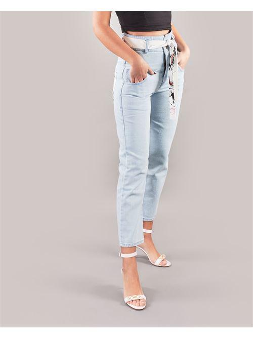 Jeans con cintura Giulia N GIULIA N | Pantalone | GE2120DENIM