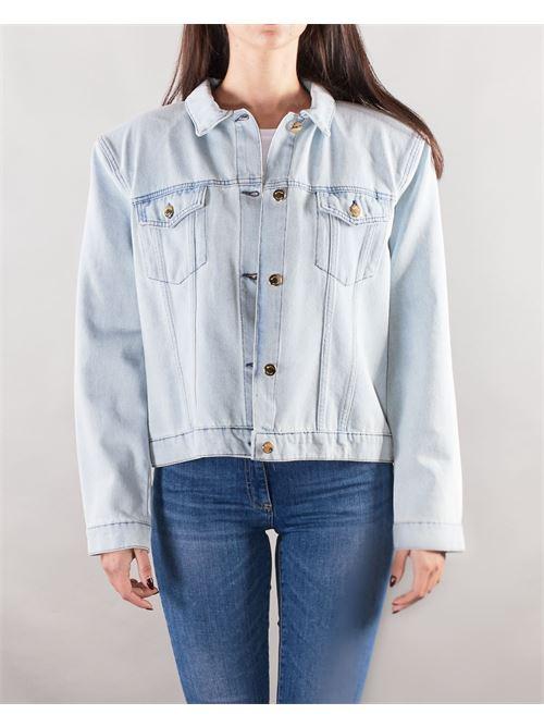Giubbotto di jeans ''CREDI NEI TUOI SOGNI'' Giulia N GIULIA N | Giubbotto | GE2126DENIM
