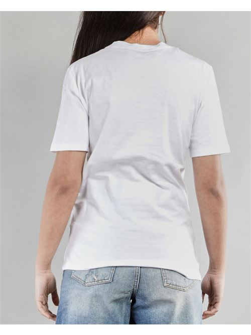 T-shirt ''Credi nei tuoi sogni'' Giulia N GIULIA N | T-shirt | GE2138BIANCO-CELESTE