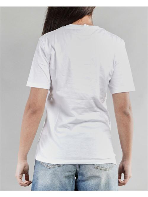 T-shirt ''Credi nei tuoi sogni'' Giulia N GIULIA N | T-shirt | GE2138BIANCO-FUXIA