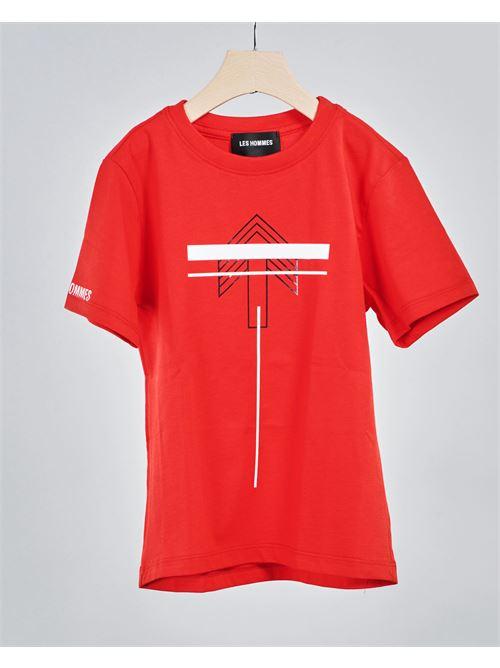 T-shirt con stampa Les Hommes Kids LES HOMMES KIDS | T-shirt | TSLH2102300