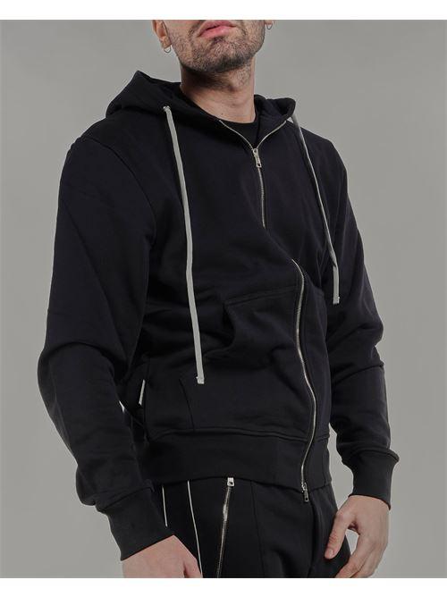 Felpa con zip e cappuccio Low Brand LOW BRAND | Felpa | L1FSS215729D001