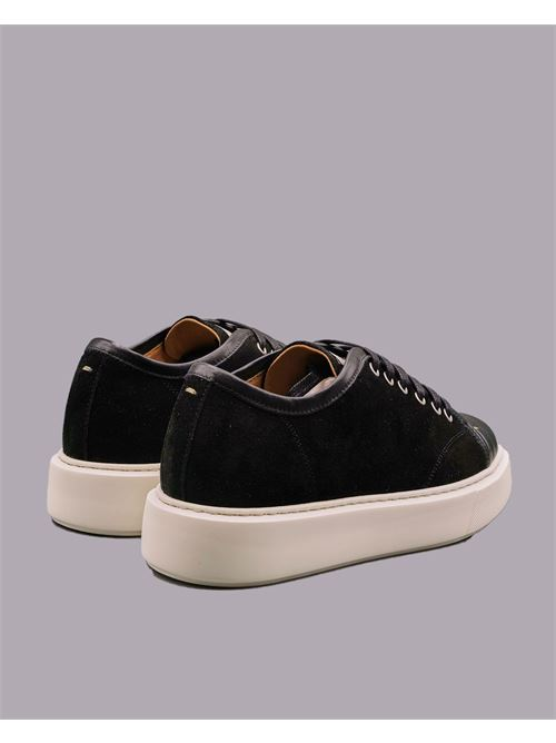 Sneakers in camoscio con inserti in pelle Low Brand LOW BRAND | Sneakers | L1SSS215954D001