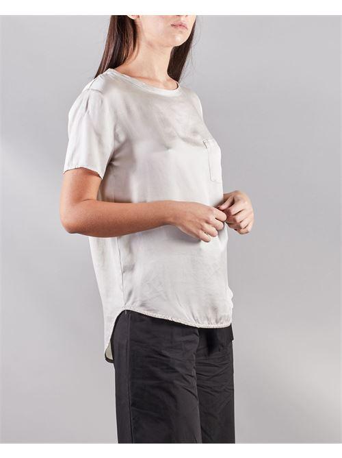 Blusa a maniche corte con taschino Manila Grace MANILA GRACE | Camicia | C335SUMA042