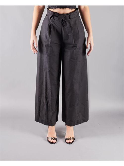 Pantalone ampio con pieghe Manila Grace MANILA GRACE | Pantalone | P384CUMA001